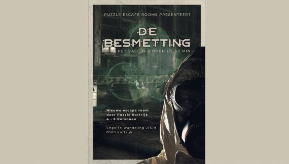 Escape Room de besmetting Kortrijk
